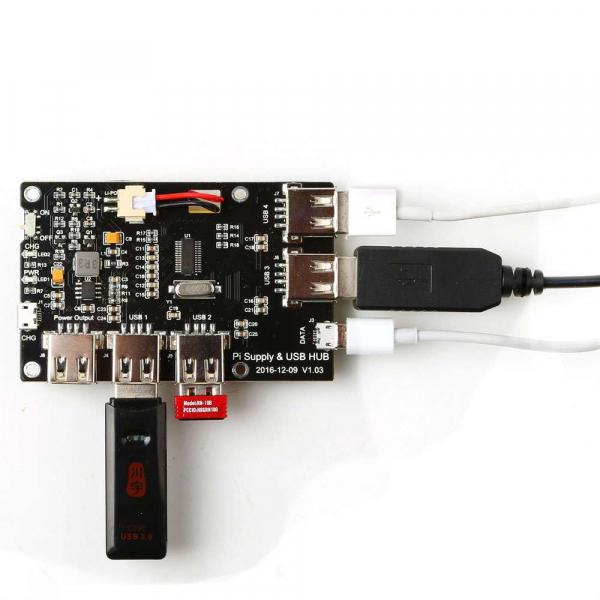 Modul alimentare pentru Raspberry Pi cu 4 iesiri USB [0]