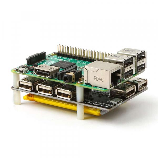 Modul alimentare pentru Raspberry Pi cu 4 iesiri USB [1]