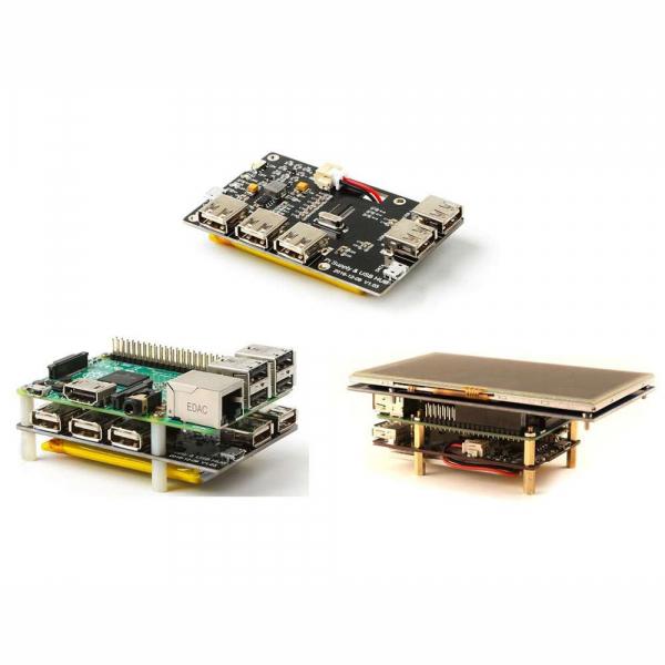 Modul alimentare pentru Raspberry Pi cu 4 iesiri USB [2]
