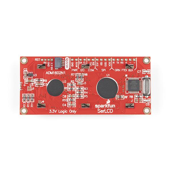 Modul LCD serial SparkFun 16x2 SerLCD [2]