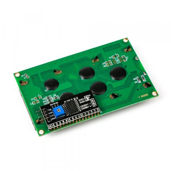 Modul LCD2004 cu backlight albastru pentru Arduino 2