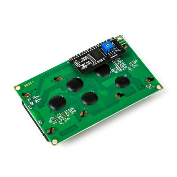 Modul LCD2004 cu backlight albastru pentru Arduino 3