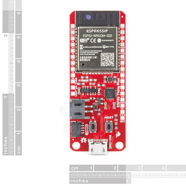 Modul MCU WiFi si Bluetooth SparkFun Thing Plus ESP32 WROOM [1]