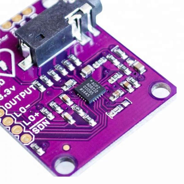 Modul senzor ECG AD8232 3