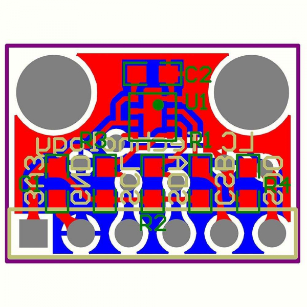 Modul senzor presiune atmosferica/altimetru ME-BME280 2