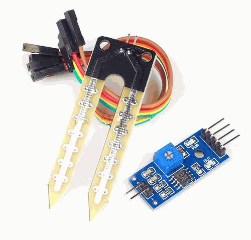 Modul senzor umiditate pentru Arduino UNO R3 [1]