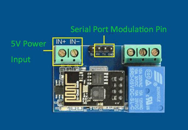 Modul Wi-Fi de 5V bazat pe ESP8266 4