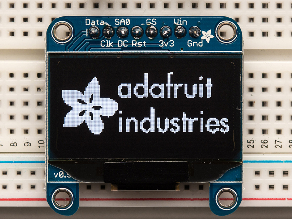 "Monochrome 1.3"" 128x64 OLED graphic display 0"