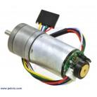 Motor 25Dx52L 1010 RPM cu encoder Pololu [0]