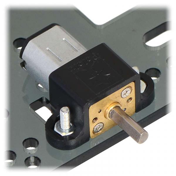 Motor electric micro metal 380:1 HPCB 6V cu ax extins [2]