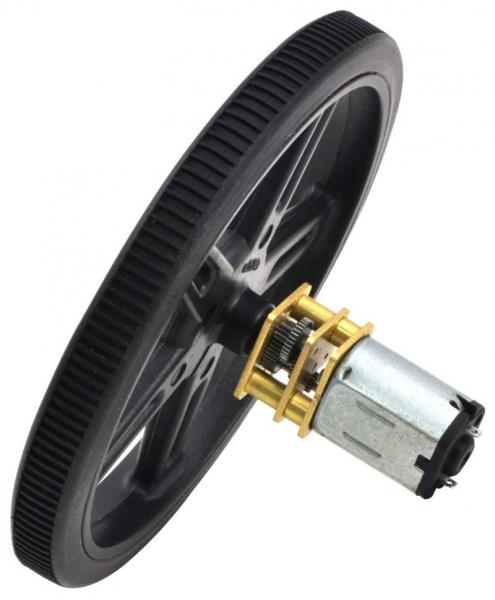 Motor electric micro metal 380:1 HPCB 6V cu ax extins [1]