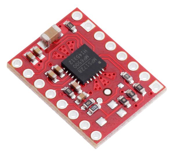 Driver stepper MP6500 cu controlul curentului prin pini digitali [1]