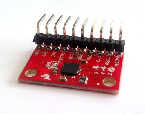 Accelerometru + Giroscop IMU MPU 6050 [1]
