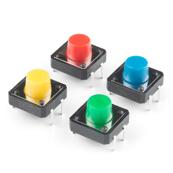 Set 4 butoane multicolore 0