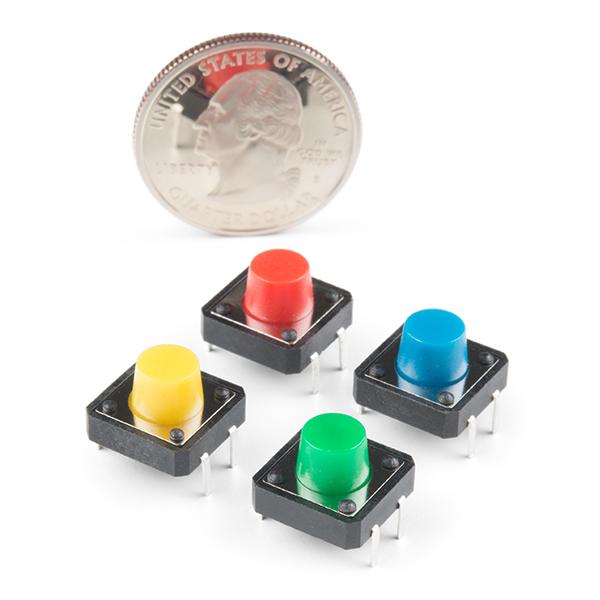 Set 4 butoane multicolore 1