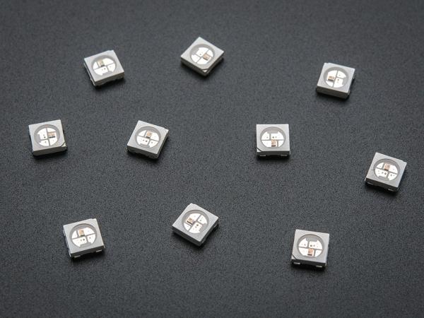LED RGB NeoPixel cu Driver Incorporat - Pachet de 10 2