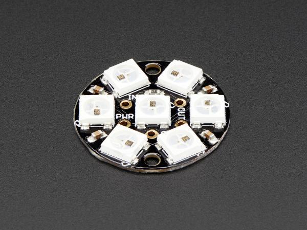 NeoPixel Jewel - 7 x WS2812 5050 RGB LED 2