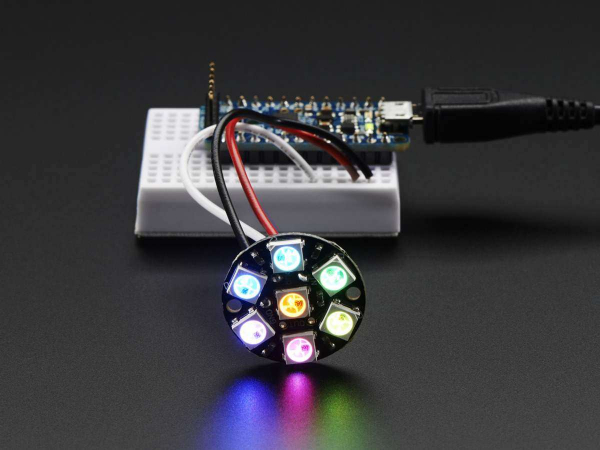 NeoPixel Jewel - 7 x WS2812 5050 RGB LED 1