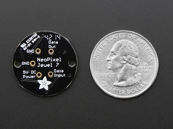 NeoPixel Jewel - 7 x WS2812 5050 RGB LED 3