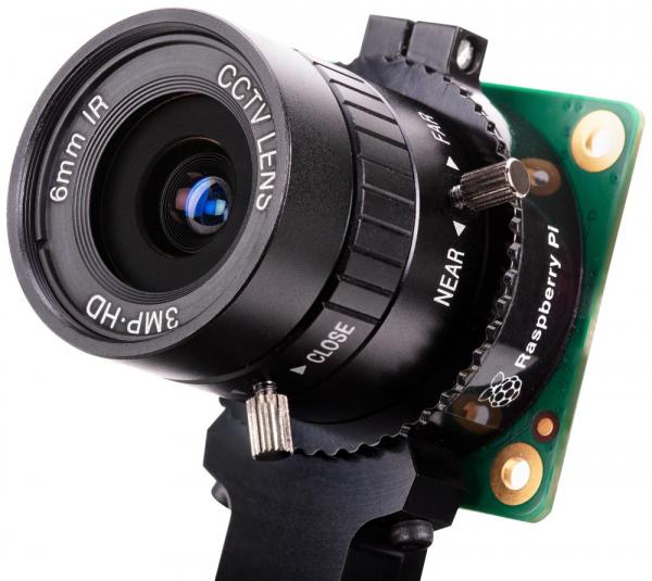 Obiectiv 6mm camera Raspberry Pi HQ 0