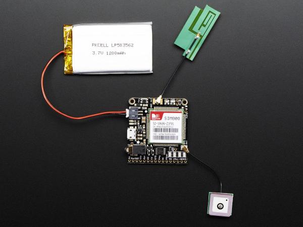 Antena GPS Pasiva uFL - 1 dBi 1