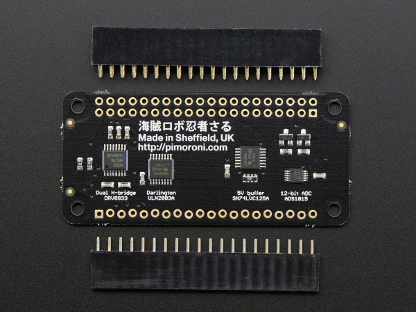 Pimoroni Explorer pentru Raspberry Pi/Zero 3