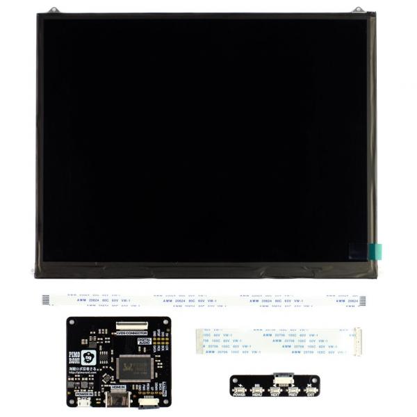 Pimoroni kit afisaj LCD de 10 inch (1024x768) cu HDMI [1]