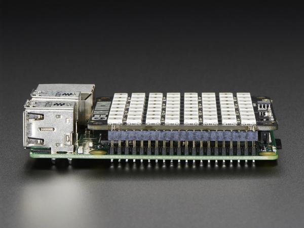 Pimoroni Unicorn Hat - 8x8 RGB LED Shield pentru Raspberry Pi A+/B+ [5]