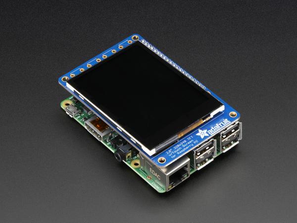 """PiTFT Plus Mini Kit 320x240 2.8"""" TFT + Touchscreen capacitiv [6]"""