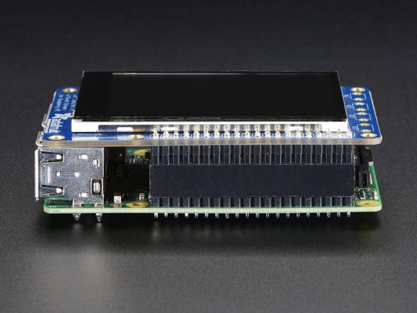 """PiTFT Plus Mini Kit 320x240 2.8"""" TFT + Touchscreen capacitiv [4]"""