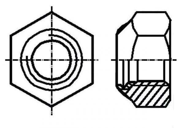 Set piulita M3 autoblocanta (10 bucati) 0