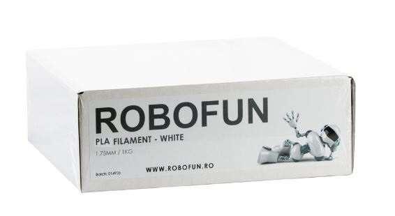 Filament Premium Robofun PLA 1KG  1.75 mm - Alb [1]