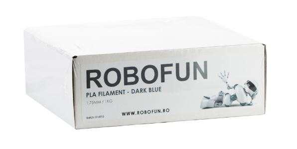 Filament Premium Robofun PLA 1KG  1.75 mm - Albastru inchis 1