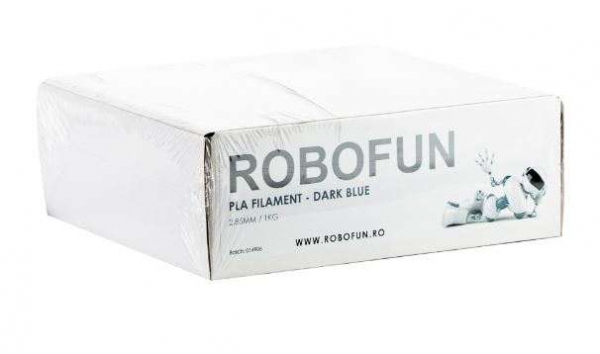 RETRAS - Filament Premium Robofun PLA 1KG  3 mm - Albastru inchis [4]