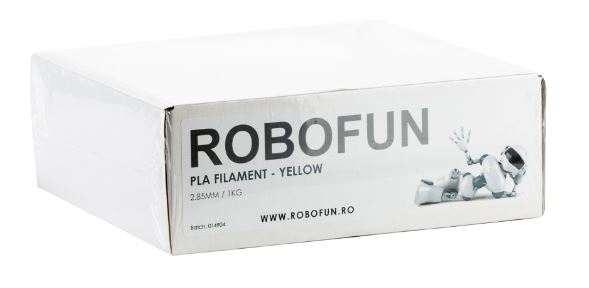 RETRAS - Filament Premium Robofun PLA 1KG  3 mm - Galben [3]