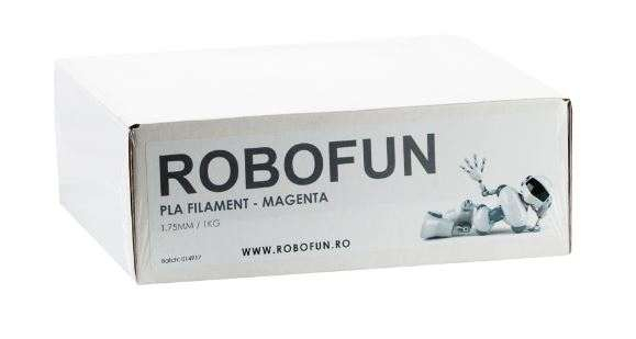 Filament Premium Robofun PLA 1KG  1.75 mm - Magenta 1
