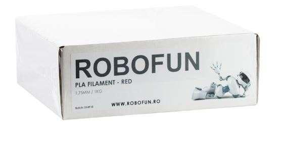 Filament Premium Robofun PLA 1KG  1.75 mm - Rosu 1