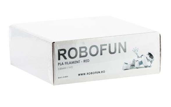 RETRAS - Filament Premium Robofun PLA 1KG  3 mm - Rosu 8