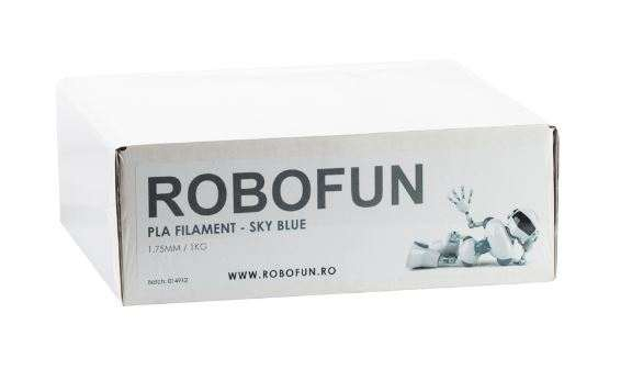 Filament Premium Robofun PLA 1KG  1.75 mm - Albastru deschis [1]