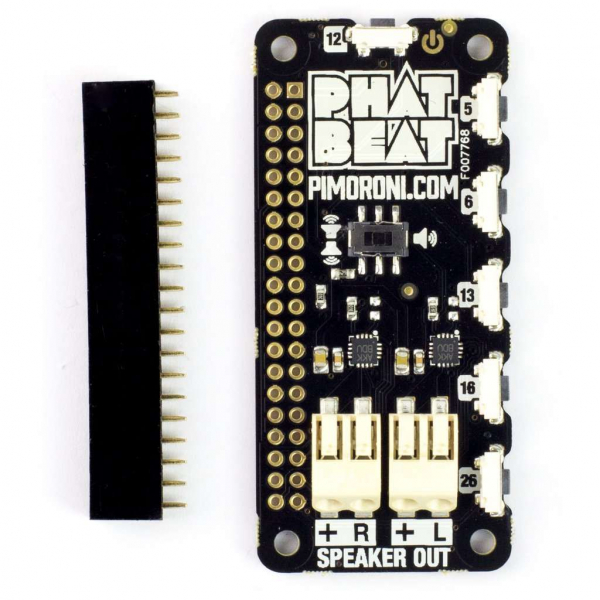 Placa add-on pHAT BEAT 1