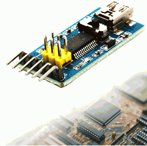 Placa breakout pentru FTDI FT232RL 3.3V si 5V [0]