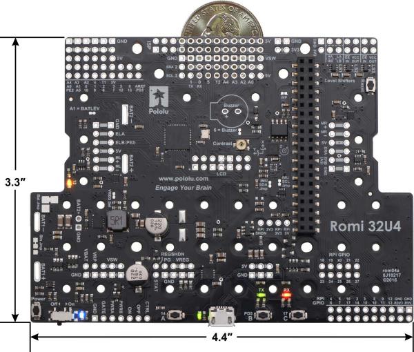 Placa de control Romi 32U4 1