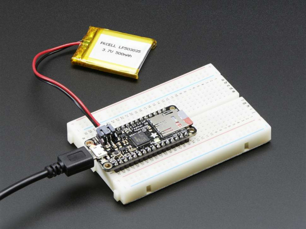 Placa dezvoltare Adafruit Feather M0 Adalogger 2