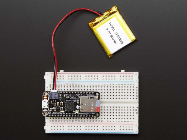 Placa dezvoltare Adafruit Feather M0 Adalogger 7