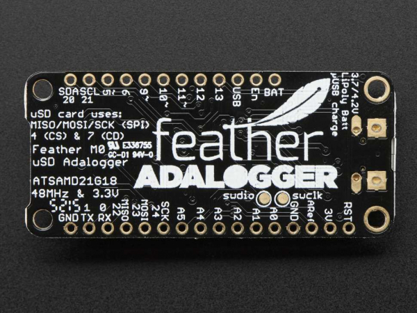 Placa dezvoltare Adafruit Feather M0 Adalogger 9