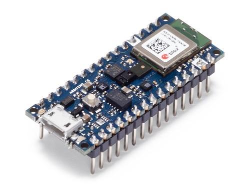 Placa dezvoltare Arduino Nano 3 BLE Sense cu terminatii 0