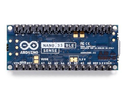 Placa dezvoltare Arduino Nano 3 BLE Sense cu terminatii 4