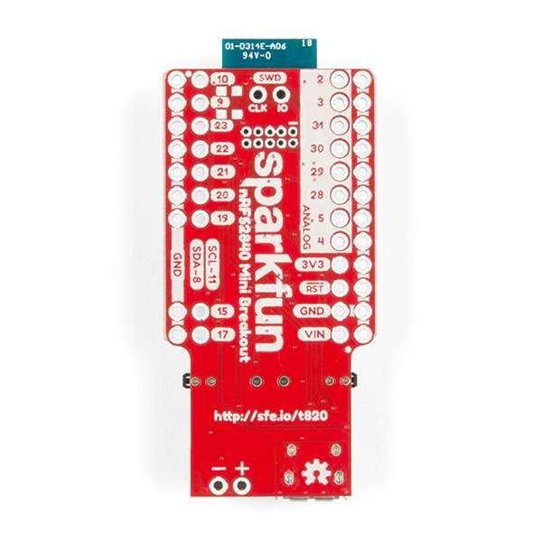 Placa de dezvoltare SparkFun Pro nRF52840 Mini cu Bluetooth 2