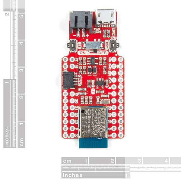 Placa de dezvoltare SparkFun Pro nRF52840 Mini cu Bluetooth 1