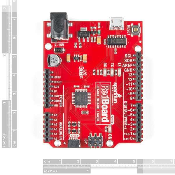 Placa dezvoltare SparkFun RedBoard cu Qwiic 1